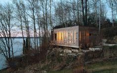 Taylor_Smythe architects -Sunset Cabin  Lake Simcoe • Ontario  B L O O D A N D C H A M P A G N E . C O M: