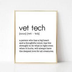 Love My Dog, Vet Tech Tattoo, Vet Tech Quotes, Vet Office, Office Art, Office Decor, Creative Clips, Vet Tech Scrubs, Vet Tech Student