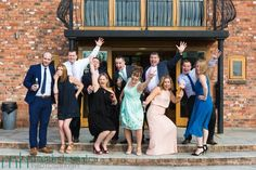 An informal formal group shot during Nicky & Jai's wedding celebrations at Wootton Park near Stratford-upon-Avon. Martin Hemsley Photography.