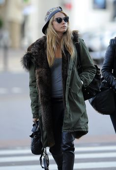 Cara Delevingne spotted at Gatwick Airport, London - 27/04/2014