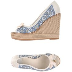 7fc91e1a7d8d66 Tory Burch Espadrilles ( 245) ❤ liked on Polyvore featuring shoes