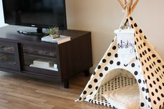 Dog Teepee - love+whiskey home decor