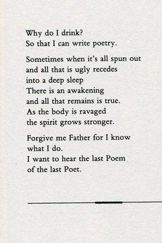 Poem by Jim Morrison