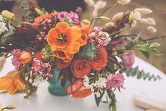 Southwestern-inspired centerpiece | Photo by Mackensey Alexander | Floral design by Urban Poppy