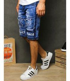 Pánske kraťasy - Kokain Blue Shorts, Denim Shorts, Men's Denim, A Good Man, Blue Denim, Thighs, Vogue, Under Armour, Modeling