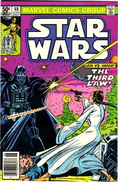 Cover for Star Wars (Marvel, 1977 series) #48 [Newsstand Edition]