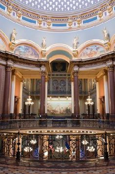 Why wouldn't you want to visit the Iowa State Capitol Building?
