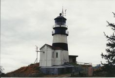 Cape Dissappointment. Oldest Lighthouse in Washington State. Heading here in a couple of weeks.