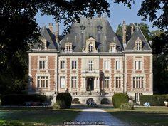 Pleasure garden says Breuil Castle Park in Voinsles