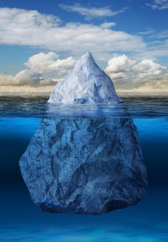 Iceberg floating in ocean. Iceberg floating in blue ocean, global warming concep , Foto Website, Iceberg, Underwater Pictures, Snow Images, Nature Images, Nature Pics, Science And Nature, Marine Life, Natural Wonders