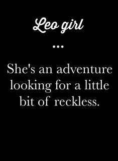 Very truee I love to be reckless! Leo Virgo Cusp, Leo Horoscope, Astrology Leo, Horoscopes, Leo Quotes, Zodiac Quotes, All About Leo, Leo Zodiac Facts, Leo Star