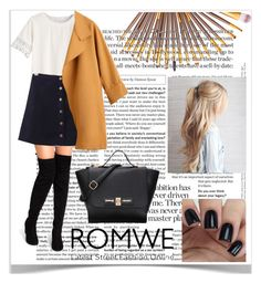 Romwe #1 by celiasmanio on Polyvore featuring polyvore, fashion, style and clothing