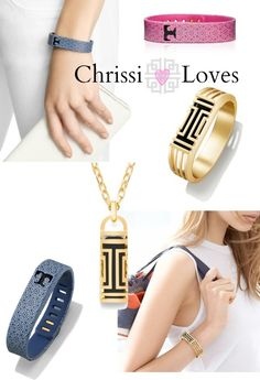 Chrissi Shields: Chrissi Loves: Tory Burch for Fitbit