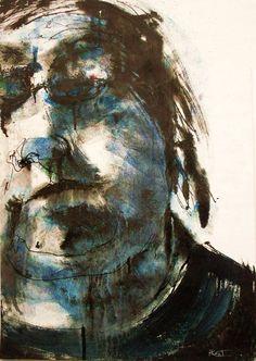 Self portrait by tachisme.deviantart.com on @DeviantArt