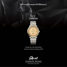Celebrating the closing of #Rio2016 with Garner Bears! #AdvantageGarnerBears #Omega #RecordingDreams #FromDreamsToHistory #LuxuryLife #Sport #Spirit #Play #Fight #Olympics2016  Shop for this @Omega watch by clicking on http://www.garnerbears.com/Omega-De-Ville-Specialities-Olympic-Collection-Beijing-2008-413.20.37.20.08.001.html