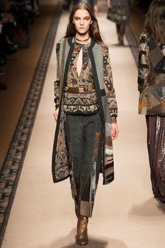 Sfilata Etro Milano - Collezioni Autunno Inverno 2015-16 - Vogue