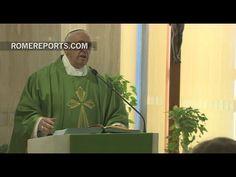 Francisco en Santa Marta: El perdón es una fuerza que se recibe de Dios