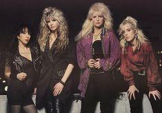 80s Heavy Metal, Drawing Down The Moon, Rock Outfits, Vixen, Music Stuff, Hard Rock, 90s Fashion, Rock Bands, Punk