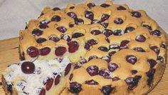 Pandispan cu vișine No Cook Desserts, Dessert Recipes, Deserts, Muffin, Pudding, Sweets, Bread, Cookies, Baking