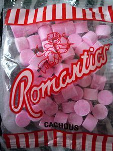 Romantics (cachous): part of a South African childhood.