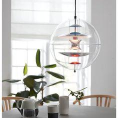 Verner Panton Globe Pendel Verner Panton Lamp, Pendant Lamp, Pendant Lighting, Globe Lamps, Interior Decorating, Interior Design, Design History, Lamp Design, Globes