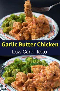 Keto Garlic Butter Chicken Breast with Steamed Broccoli Keto Low Carb Butter Chicken Breast Recipe Broccoli Recipes, Meat Recipes, Low Carb Recipes, Chicken Recipes, Dinner Recipes, Cooking Recipes, Healthy Recipes, Steamed Broccoli, Scd Recipes