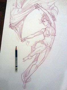 melmade the blog (the one I update ): Evening Pose Sketch