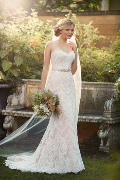 Style D2106 Essense of Australia #weddingdress #lace