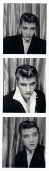 Man Elvis loved photo booths.