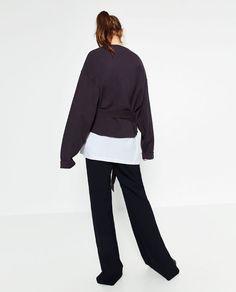 Image 4 of SWEATSHIRT from Zara