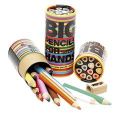 Chunky Pencils