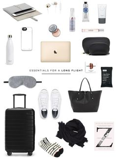 travel essentials for a long flight | Danielle Moss