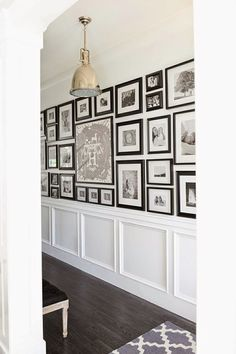 Gallery Wall, Hung with Military Precision.