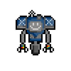 securitron pixel art - Google Search