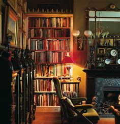 lemonadeandivy:    I go into my library and all history unrolls before me.   ~Alexander Smith