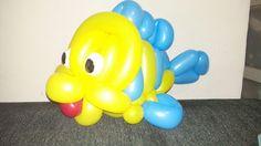 a sculptured balloon gift to Yani boy