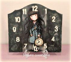 Nana's Χειροποίητες Δημιουργίες Naha, Clocks, Home Decor, Decoration Home, Room Decor, Watches, Clock, Home Interior Design