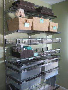 home office organization: organized desk www.alejandra.tv