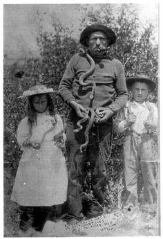 Rattlesnack Jack in 1886