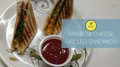 The rainbow food trend has already been around for few years, with foods like pizzas, smoothies, cakes etc. So we decided to make our favorite grilled cheese sandwich more colorful and brings out rainbow grilled cheese sandwich. Rainbow Grilled Cheese, Grill Sandwich, Grilled Bread, Rainbow Food, Food Trends, Melted Cheese, Love Food, Smoothies, Food To Make