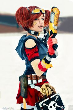 Gaige from Borderlands 2 More at http://dailycosplay.com/2014/June/19b.html