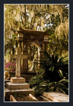 Bonaventure Cemetery - Savannah, GA Bonaventure Cemetery was developed on the historically significant site of Bonaventure Plantation. The peaceful setting rests on a scenic bluff of the Wilmington River, east of Savannah. The site was purchased for a private cemetery in 1846 and became a public cemetery in 1907.