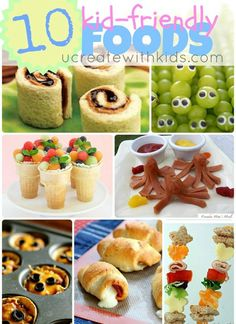 10 Kid-Friendly Fun Foods