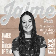 We got our inspo FIXX, when we interviewed creative entrepreneur Jaime Peck of TRND, a fashion forecasting service.