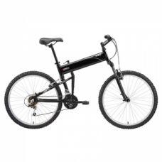 SwissBike X50 Folding Mountain Bike - 18 Speed