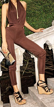 Safari Style - Jimmy  I love this jumpsuit no matter what my type! Spicy