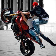street bike stunts must see