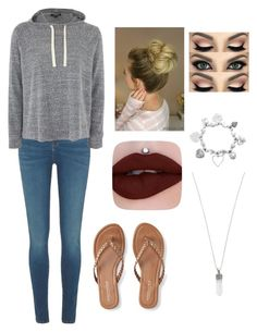 """""""Untitled #53"""" by suzannefri on Polyvore featuring River Island, Topshop, Aéropostale, ChloBo and Marc Jacobs"""