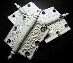 Stripping Paint off Hardware without Harsh Chemicals... another great idea via steve at anurbancottage.blogspot.com