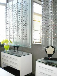 Eyeglass Frame Display Boards : 1000+ images about Optical store ideas on Pinterest ...